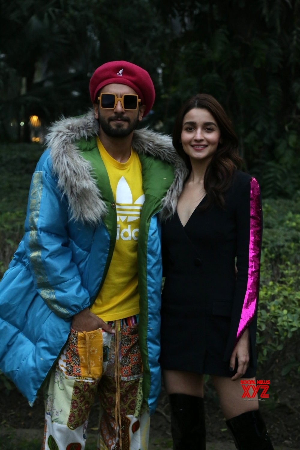 "New Delhi: ""Gully Boy"" photo shoot - Ranveer Singh, Alia Bhatt #Gallery"