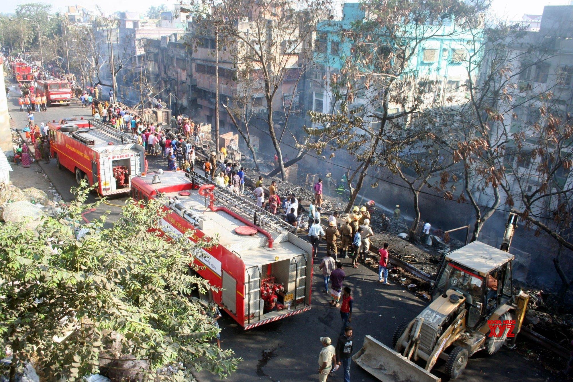 Kolkata: Fire in Dunlop #Gallery