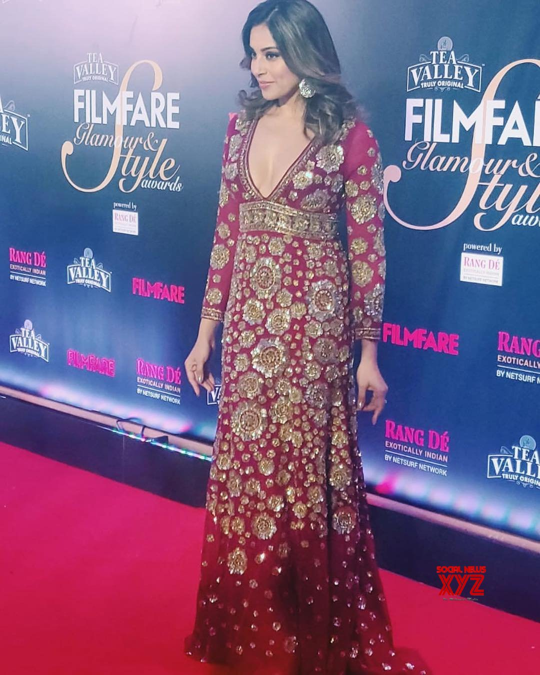 Actress Bipasha Basu Stills From Filmfare Glamour And Style Awards