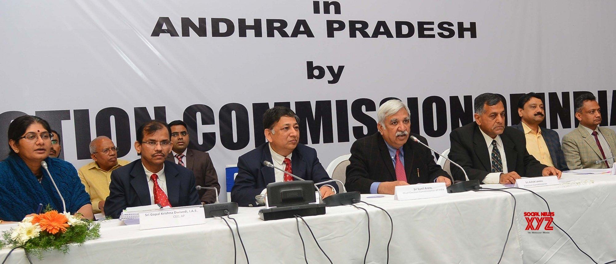 Hyderabad: CEC press conference #Gallery
