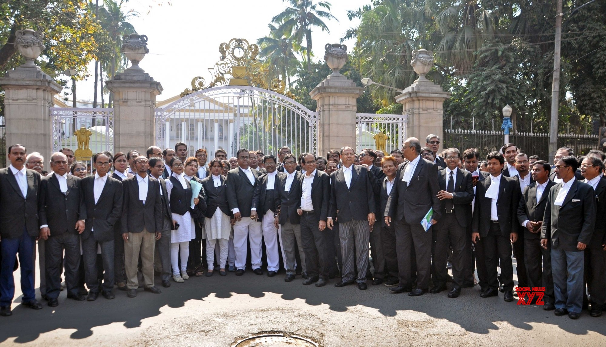 Kolkata: Lawyers' protest march #Gallery