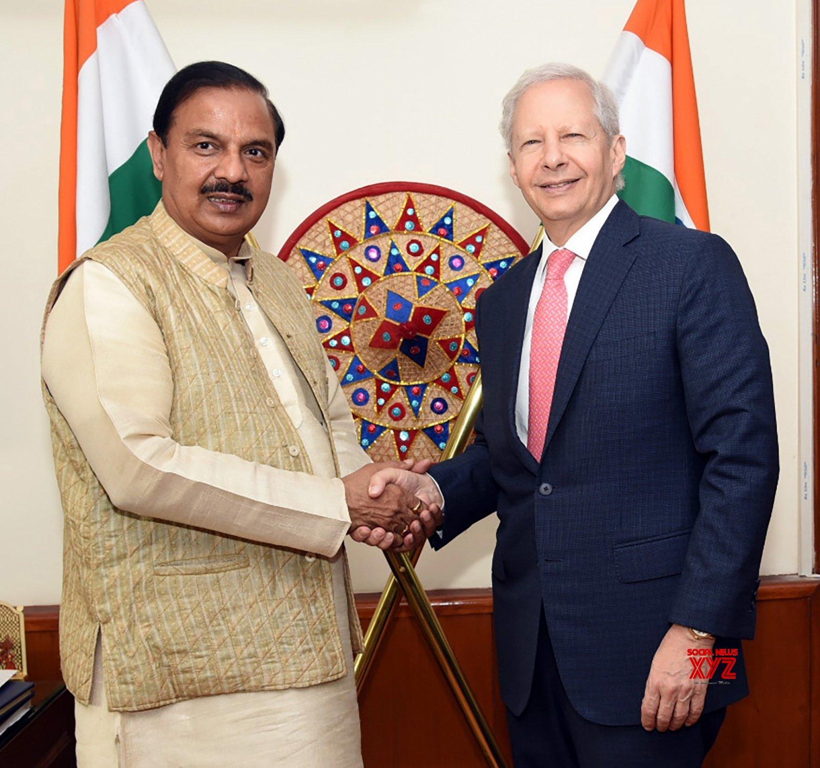 New Delhi: US Ambassador meets Mahesh Sharma #Gallery