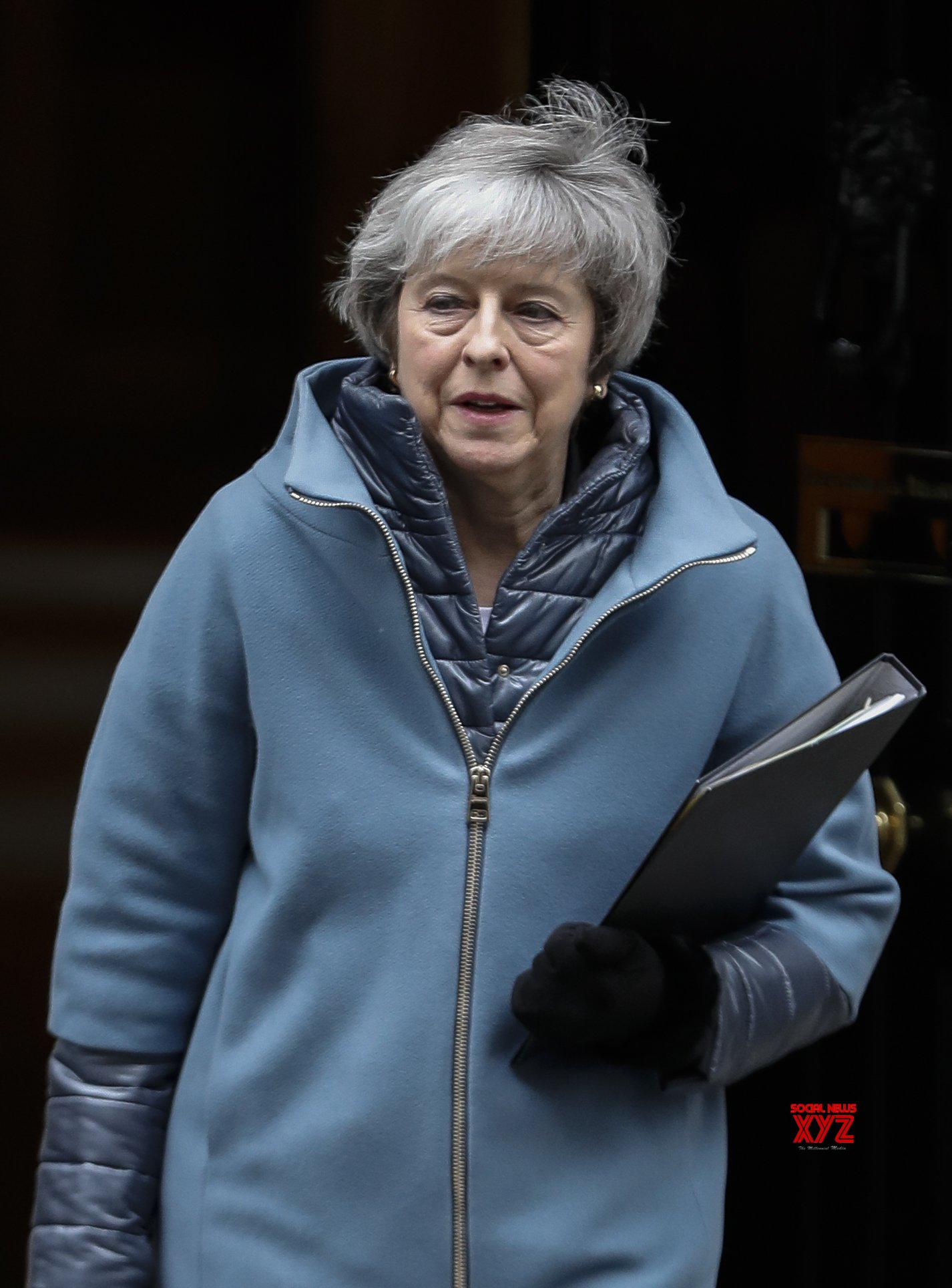 BRITAIN - LONDON - THERESA MAY - UPDATE ON BREXIT #Gallery