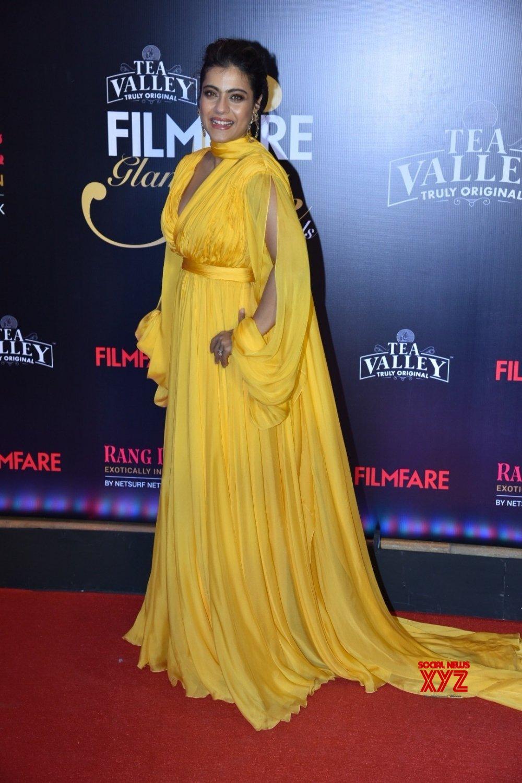Mumbai: Filmfare Glamour And Style Awards 2019 - Kajol #Gallery