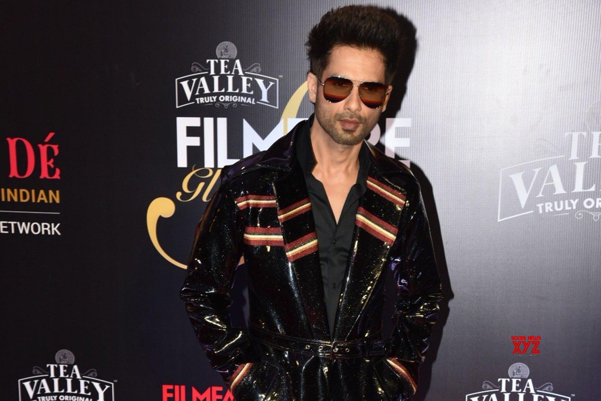 Mumbai: Filmfare Glamour And Style Awards 2019 - Shahid Kapoor #Gallery