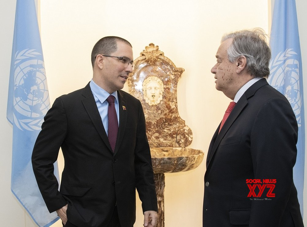 New York: Venezuelan Minister meets UN Secretary General #Gallery