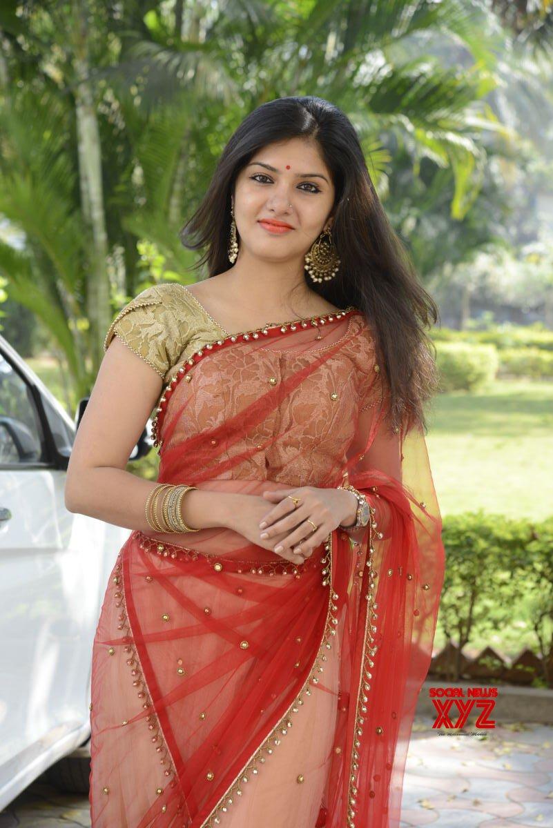 Actress Gayathri Suresh Stills From Hero Heroine Movie Teaser Launch