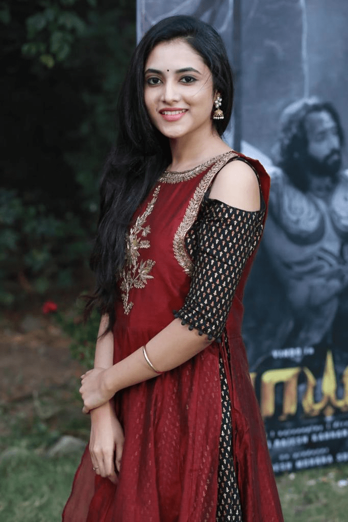 Actress Priyanka Arul Mohan Stills From The Mayan Movie Launch