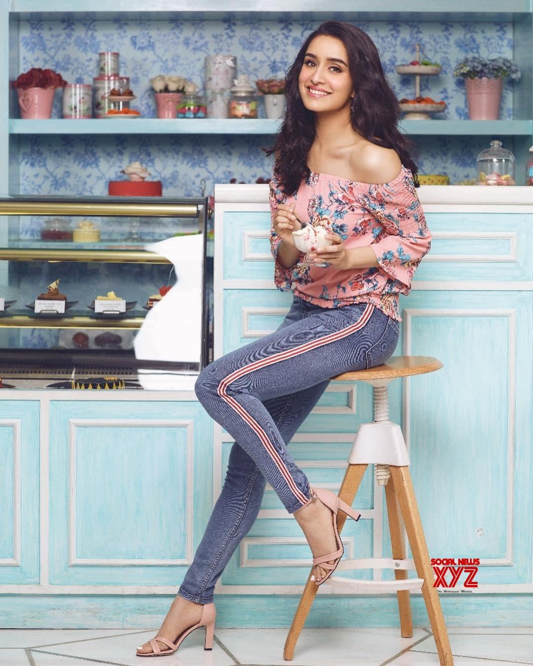 Actress Shraddha Kapoor Still In 2Bme Design