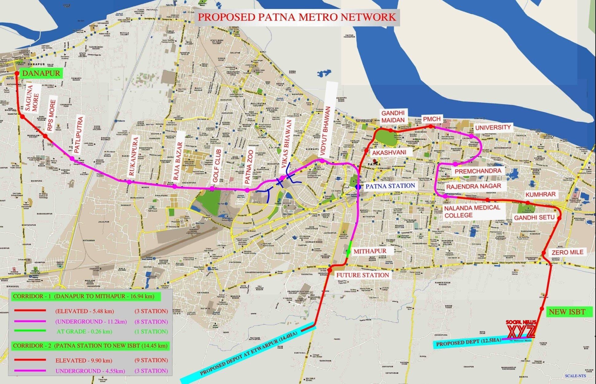 New Delhi: Cabinet approves Patna Metro Rail Project #Gallery