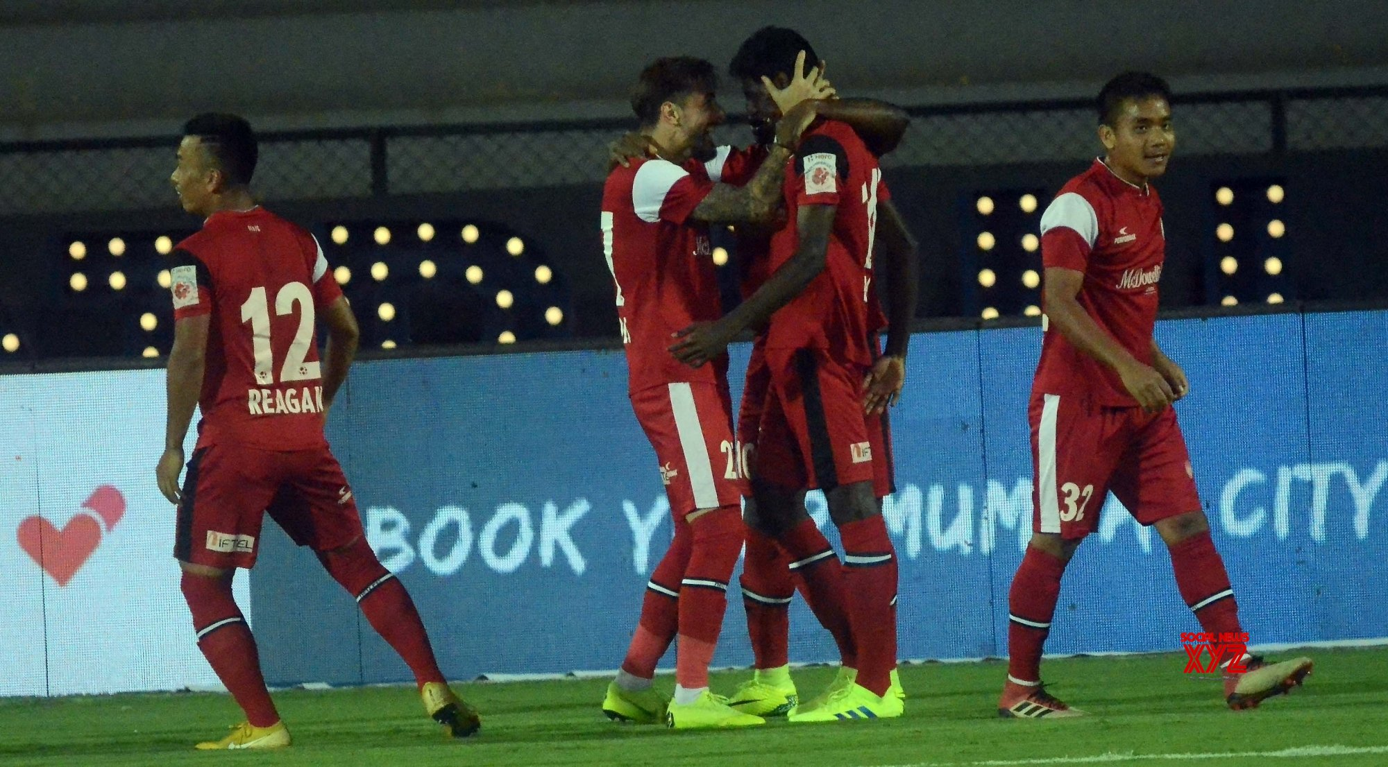 Mumbai: ISL 2018 - 19 - Mumbai City FC Vs NorthEast United FC #Gallery