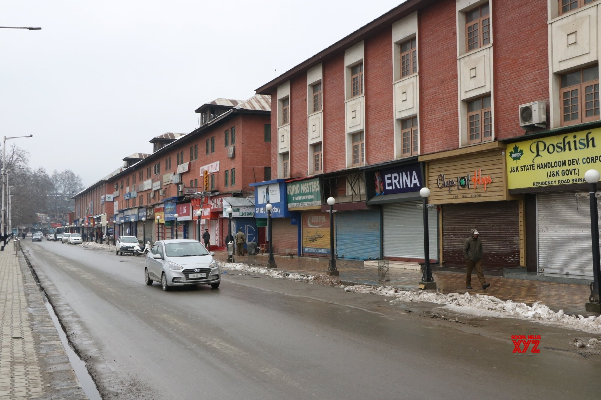 Srinagar: Shutdown in support of Article 35 - A hits life in Valley #Gallery