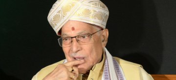 Bengaluru: BJP veteran Murli Manohar Joshi during a programme organised to celebrate 90th Birth Anniversary Celebration of Ramakrishna Hegde in Bengaluru, on Aug 29, 2016. (Photo: IANS)