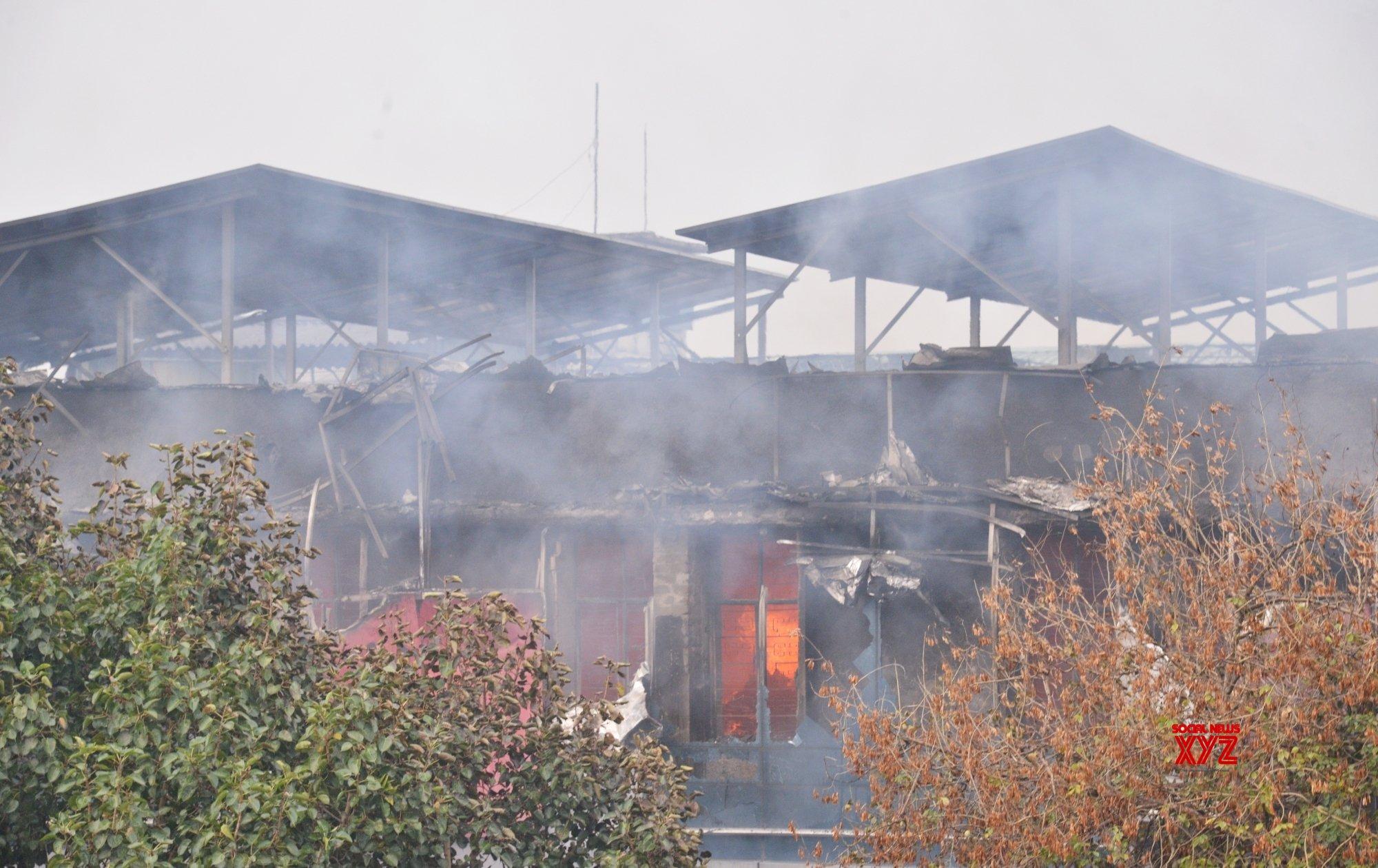 Fire breaks out in Delhi factory