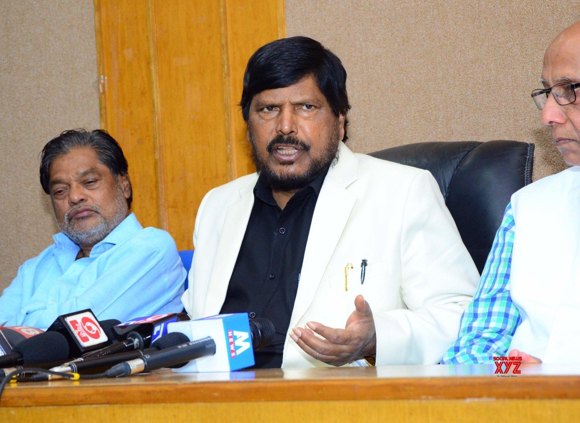 Nagpur: Ramdas Athawale's press conference #Gallery