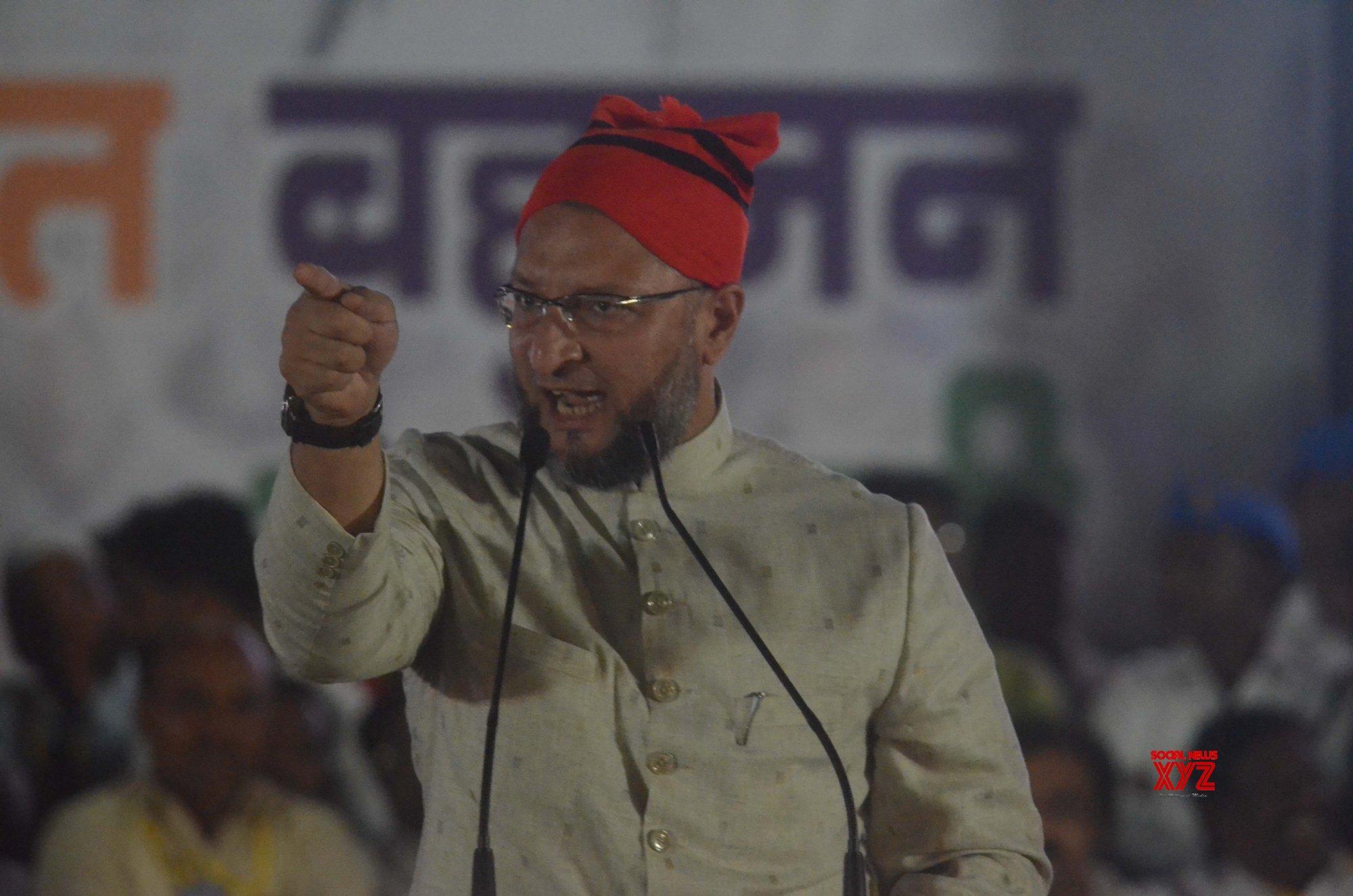 Mumbai: BBM leader Prakash Ambedkar, Asaduddin Owaisi's rally for