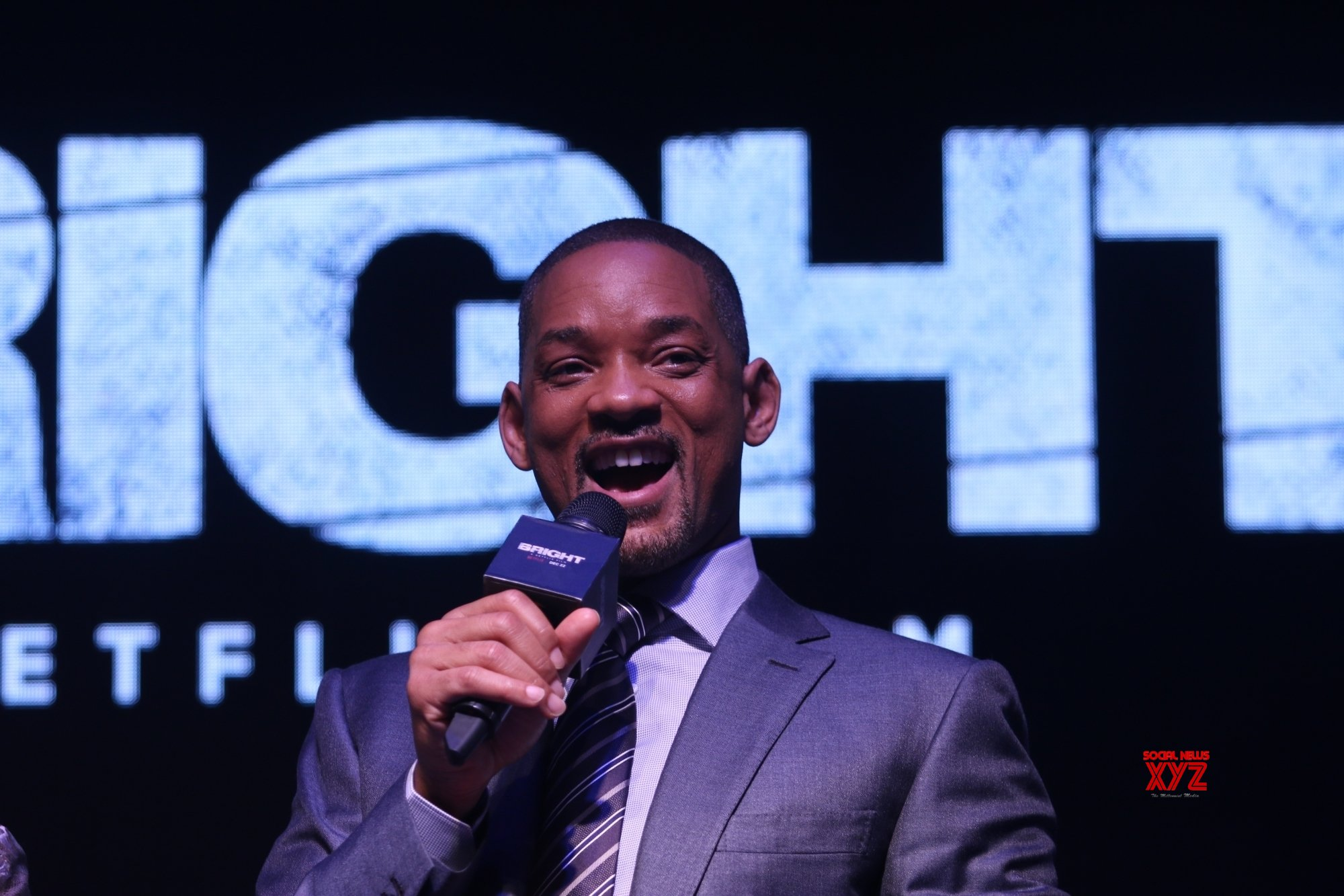 Will Smith delights retiring receptionist with surprise visit