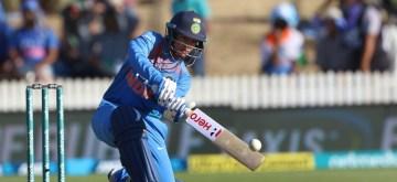 Hamilton (New Zealand): India's Smriti Mandhana in action during the third women's T20I match between India and New Zealand at Seddon Park in Hamilton, New Zealand on Feb 10, 2019. (Photo: Surjeet Yadav/IANS)