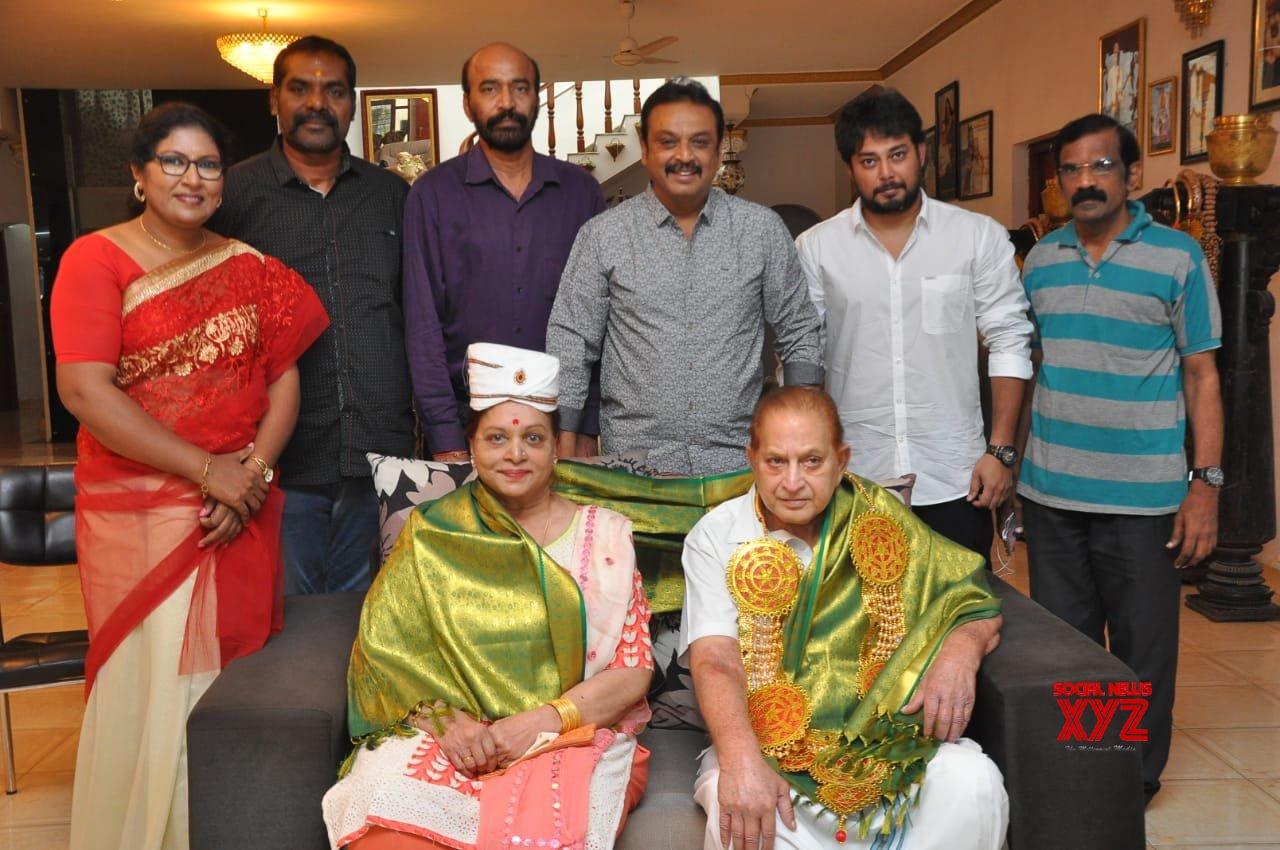 MAA President Naresh And Panel Members Met Krishna And