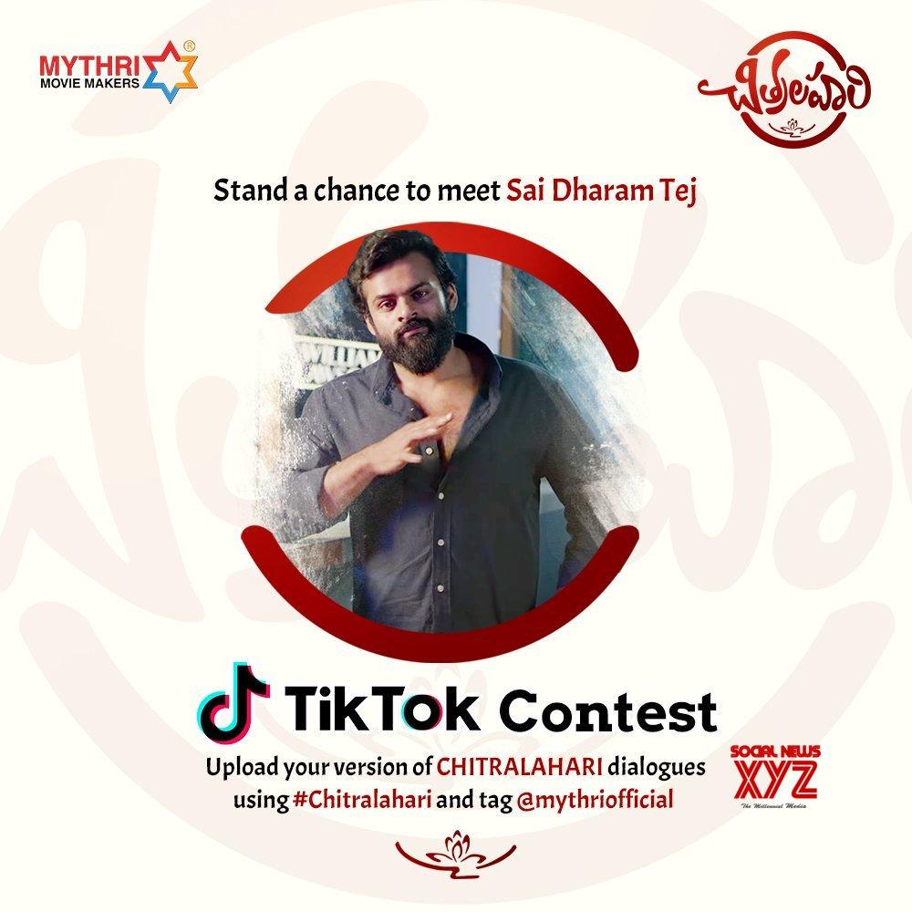 Stand A Chance To Meet Sai Dharam Tej Via Tiktok