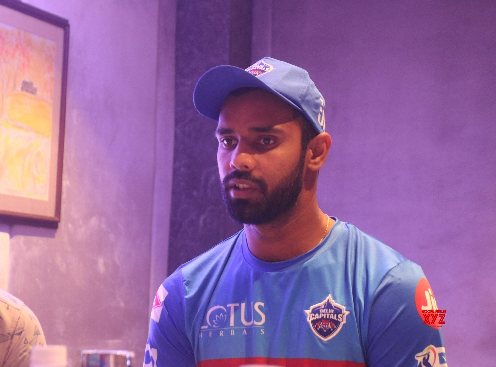 New Delhi: Delhi Capitals press conference - Hanuma Vihari #Gallery