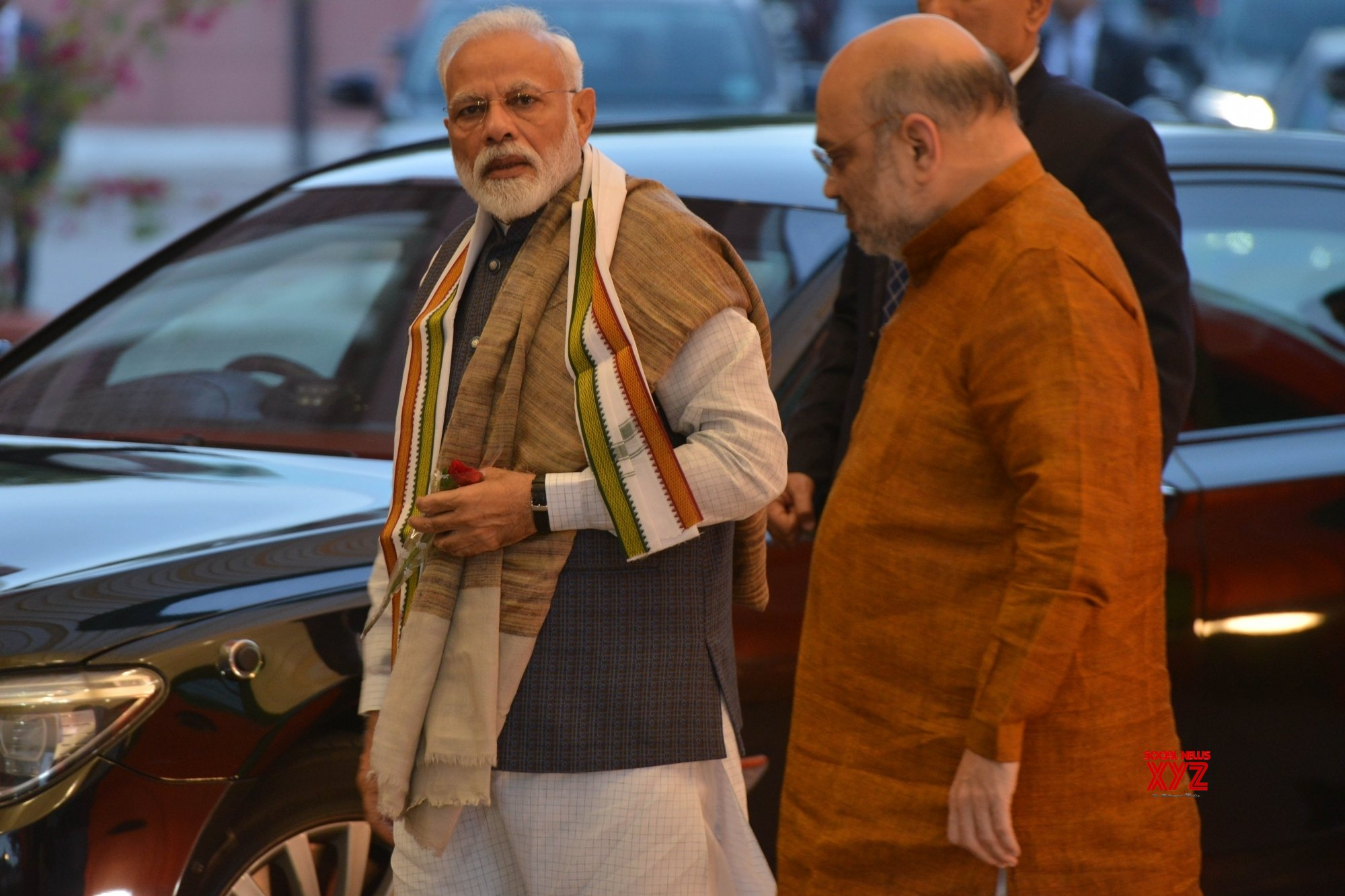 New Delhi: PM Modi, Amit Shah at BJP's Central Election Committee meeting #Gallery
