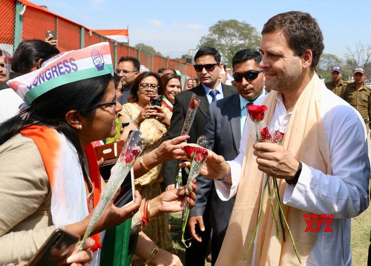 Dehradun: Rahul Gandhi at a Congress rally #Gallery