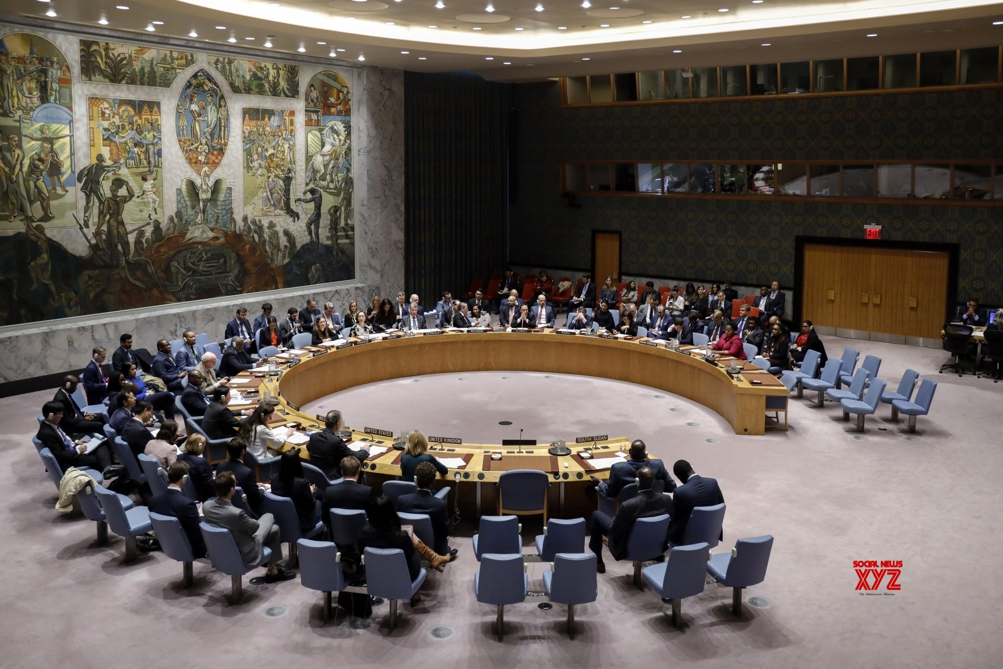 UN - SECURITY COUNCIL - SUDAN AND SOUTH SUDAN - MEETING #Gallery