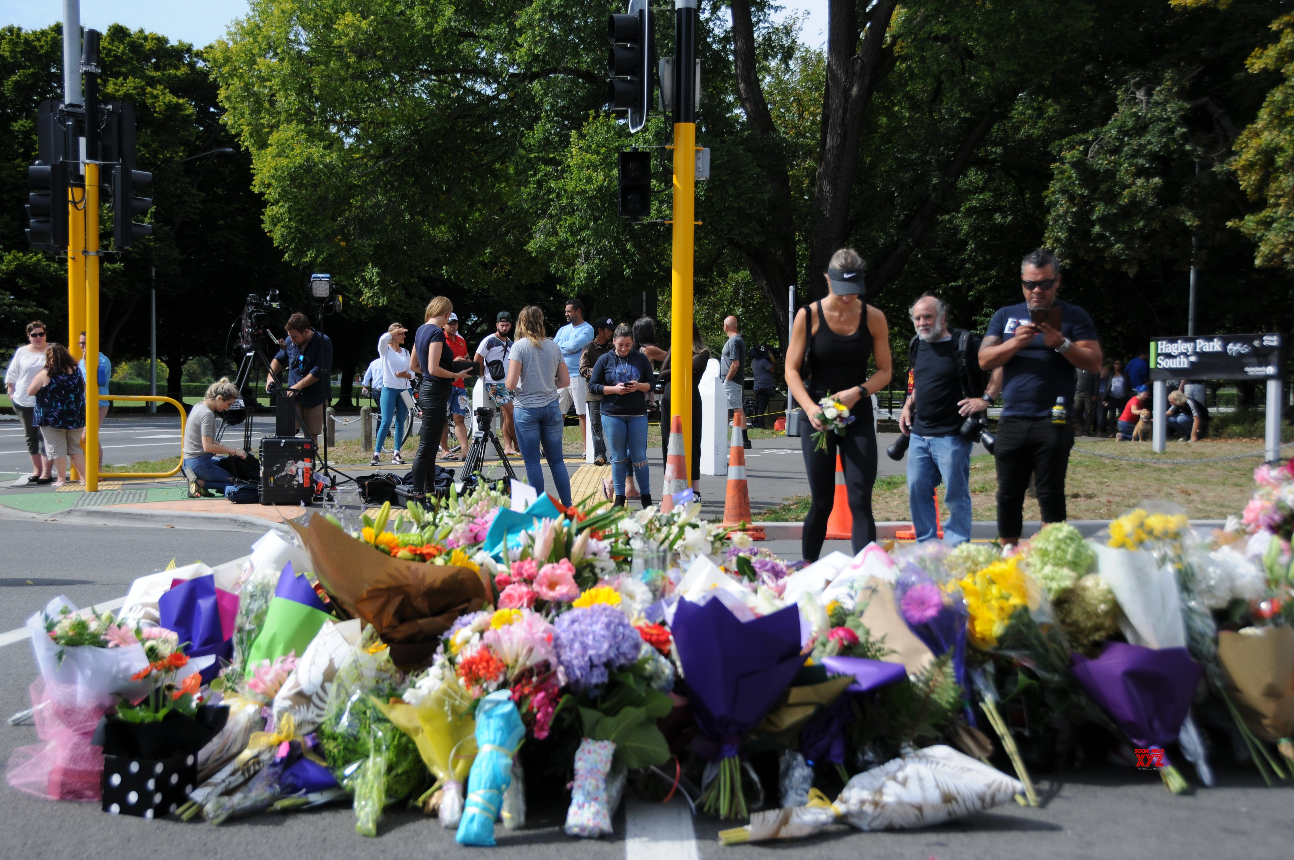NEW ZEALAND - CHRISTCHURCH - MOURNING #Gallery