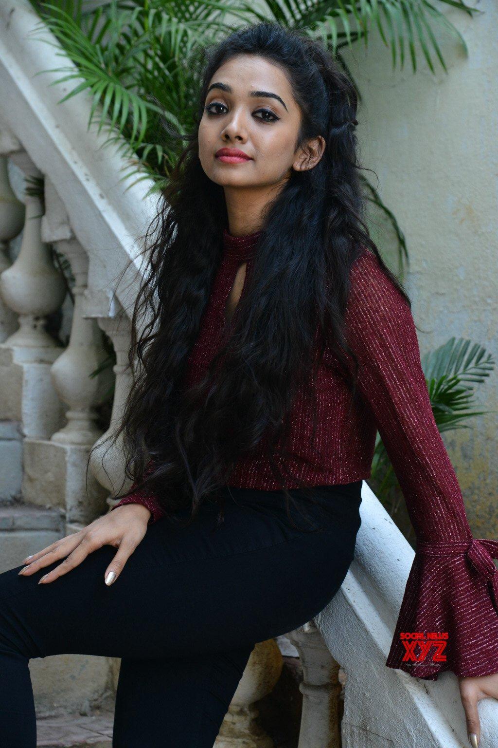 Actress Shanvi Meghana Stills From Bilalpur Police Station Movie Success Meet
