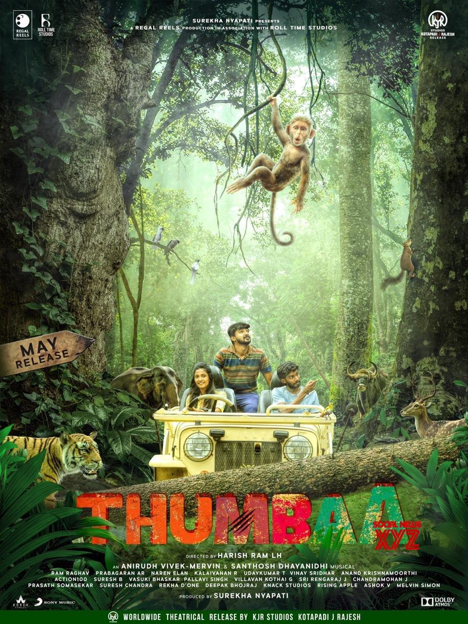 Thumbaa Movie First Look Poster