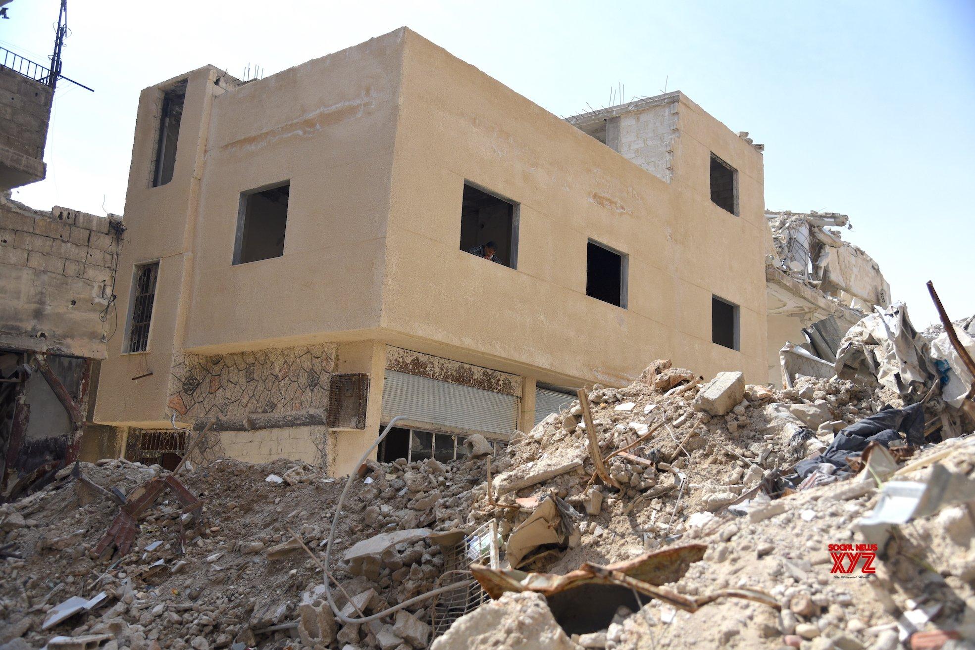 SYRIA - DAMASCUS - EASTERN GHOUTA - REBUILDING #Gallery