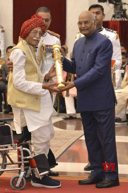 New Delhi: President Kovind presents Padma Awards - Mahashay Dharampal Gulati #Gallery