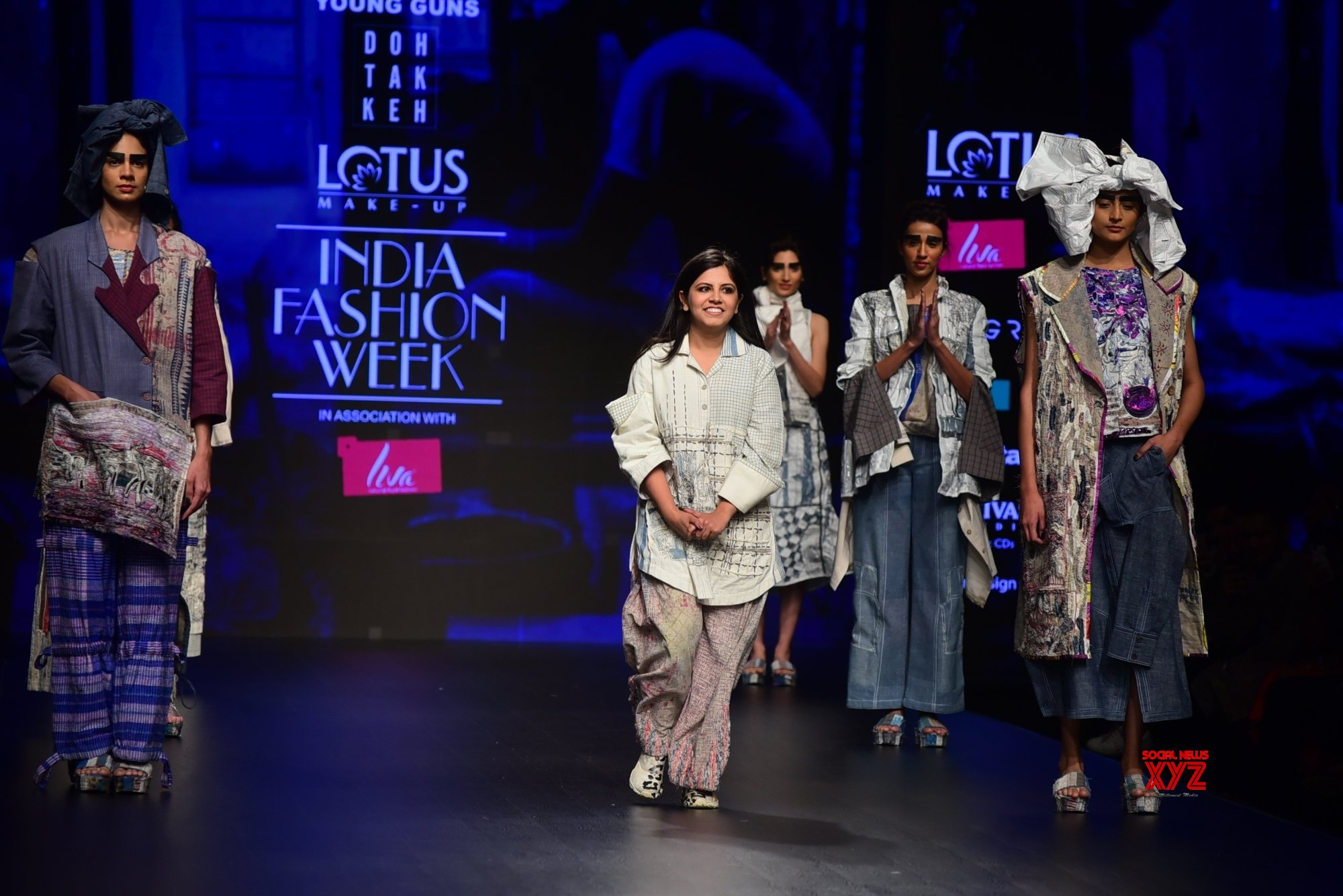 New Delhi: Lotus India Fashion Week - Day 4 - Doh Tak Keh (Batch - 2) #Gallery