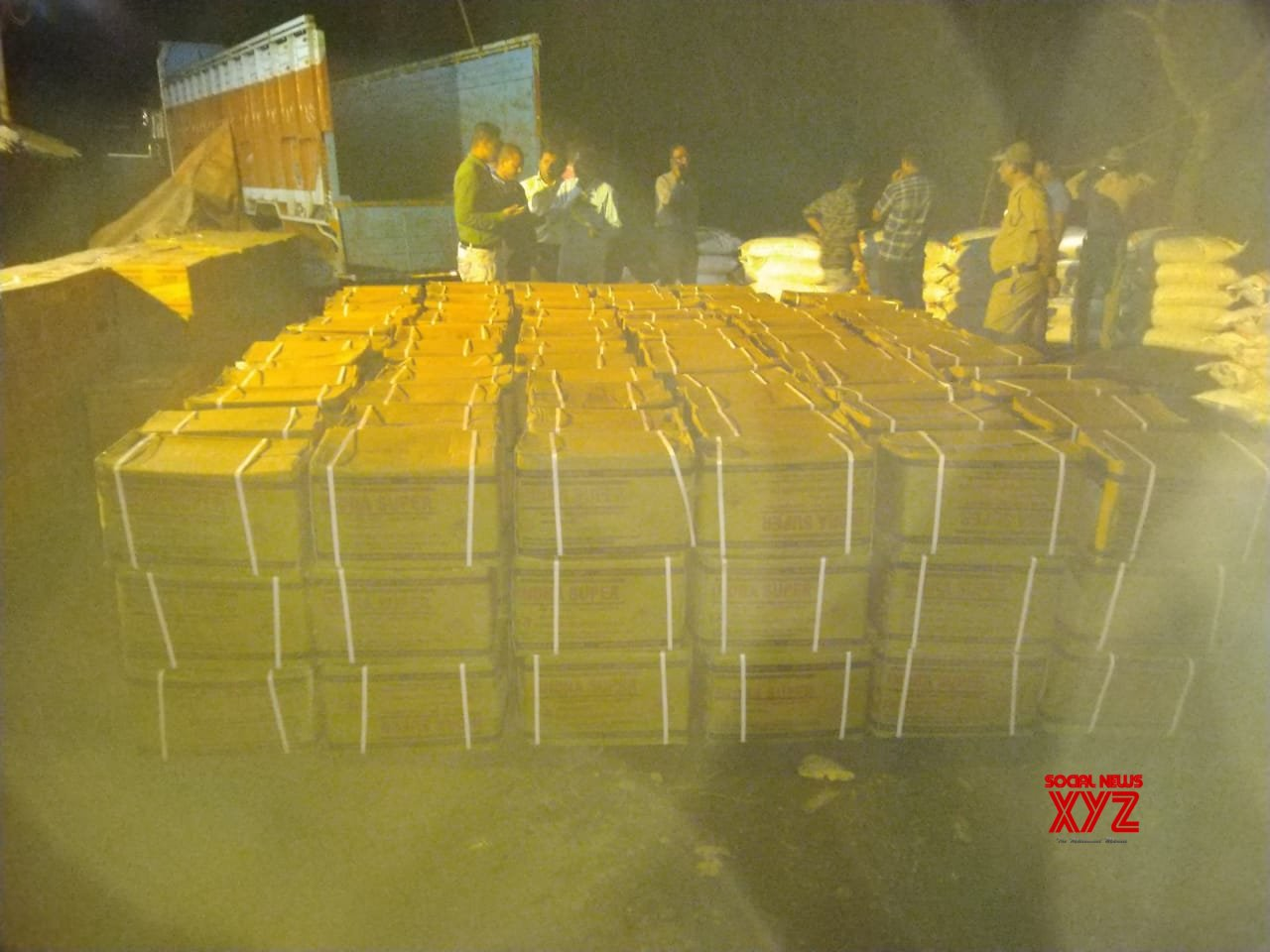 Bankura: Truck with explosives seized in Bengal, 1 arrested #Gallery