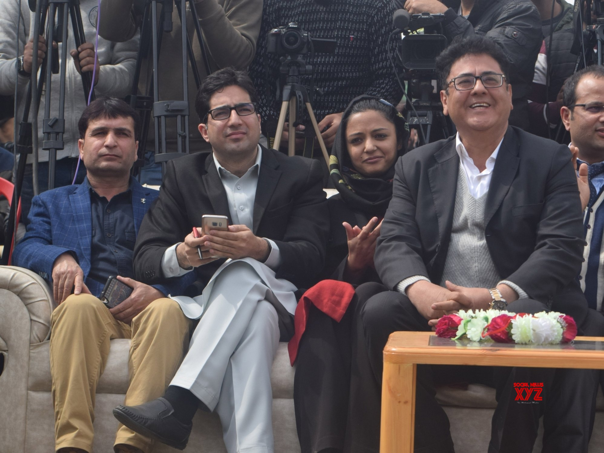 Srinagar: Shah Faesal launches J&K People's Movement #Gallery