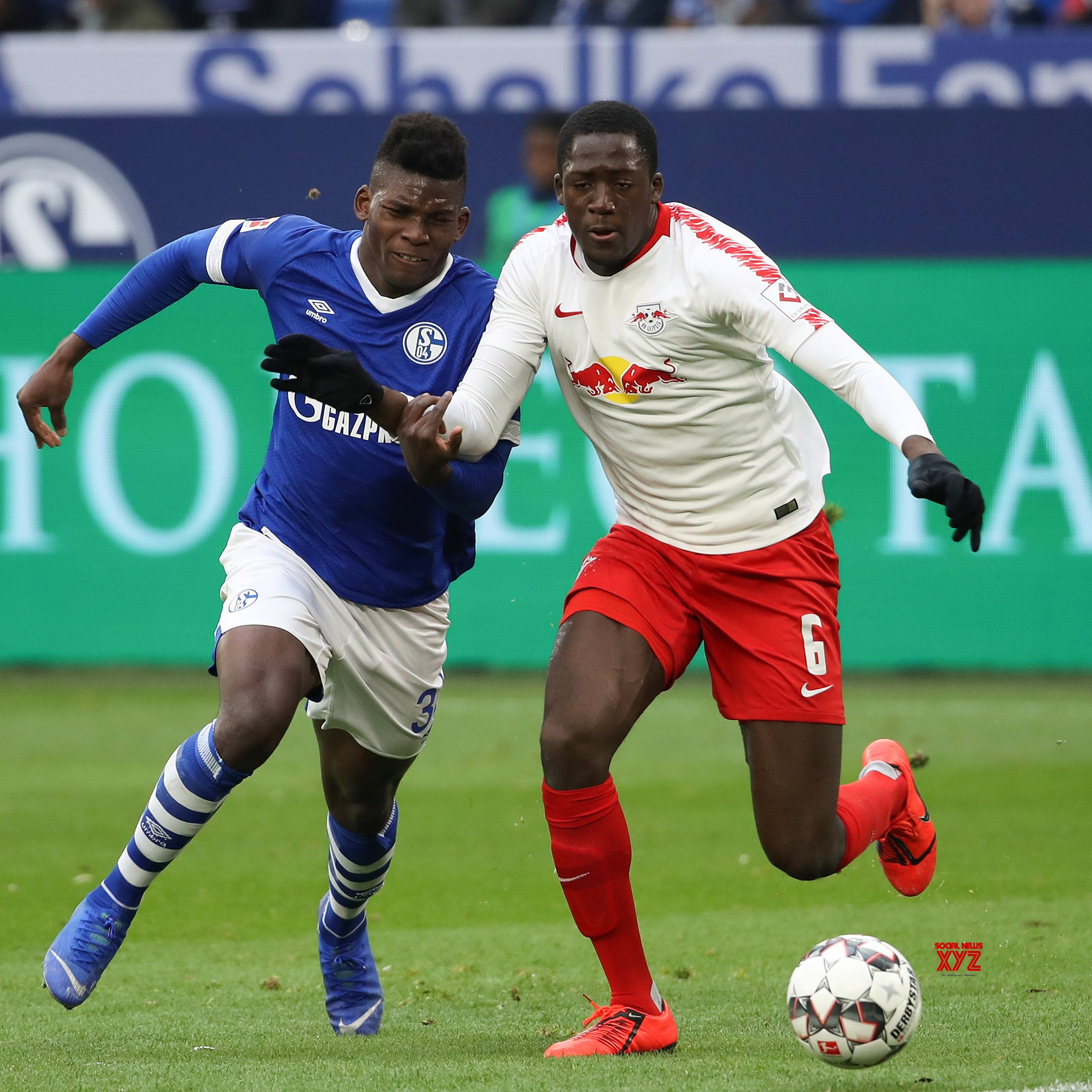 GERMANY - GELSENKIRCHEN - SOCCER - BUNDESLIGA - LEIPZIG VS SCHALKE 04 #Gallery