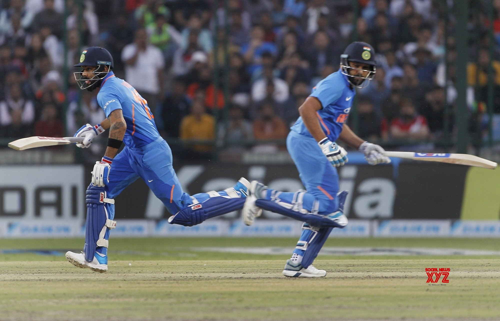 ICC ODI Rankings: Kohli, Rohit dominate top slots