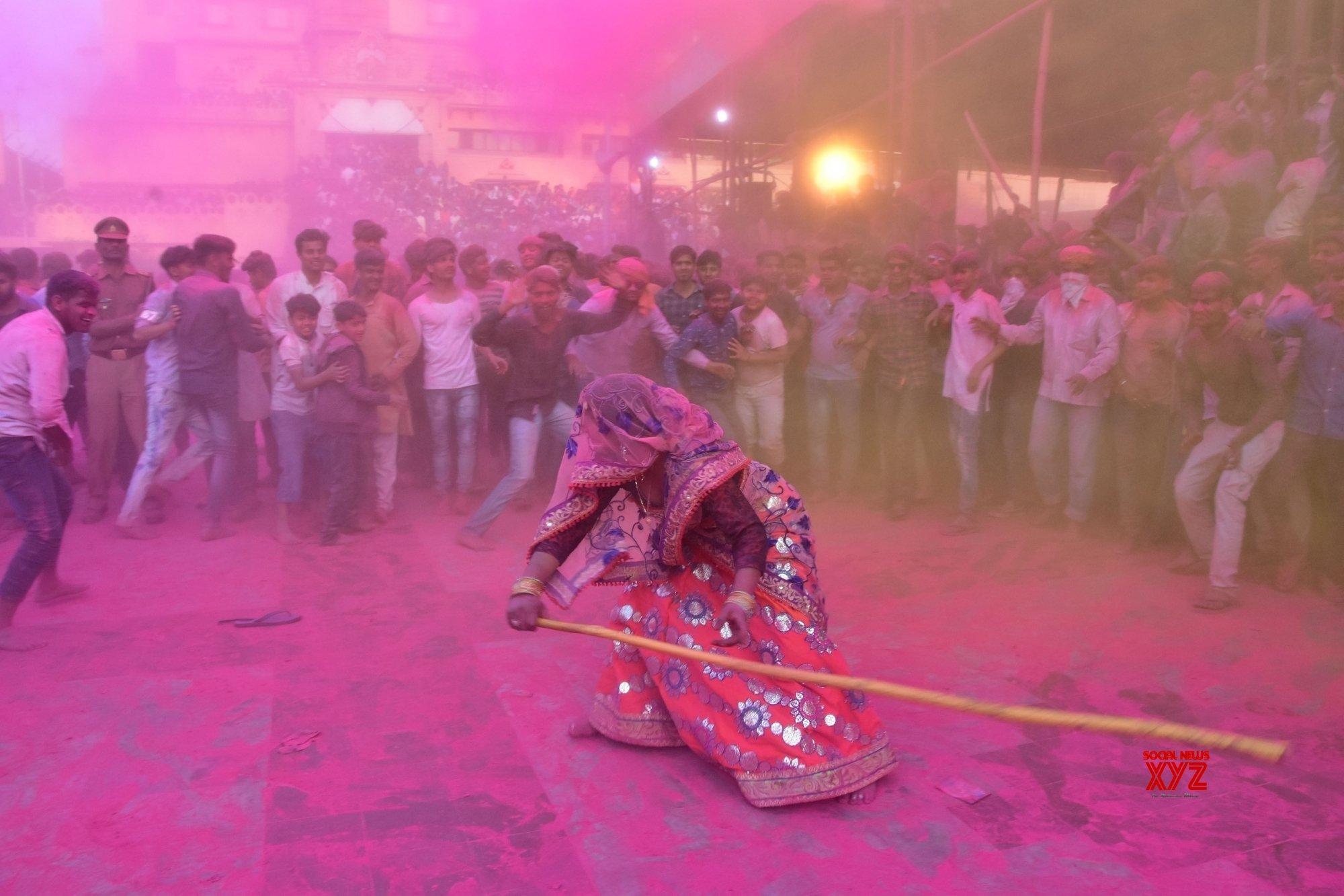 Mathura: 'Holi' celebrations #Gallery