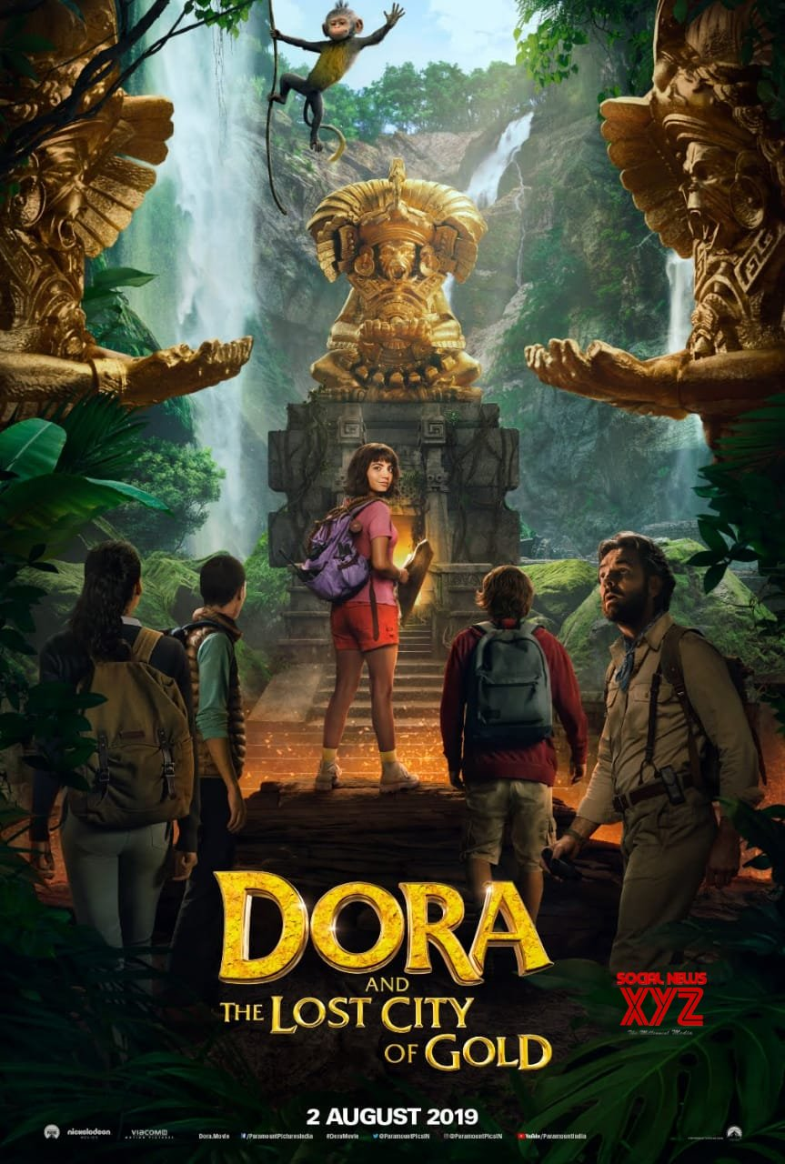 Dora And The Lost City Of Gold Movie Release Date Poster