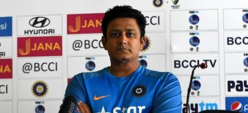 Indian cricket coach Anil Kumble. (File Photo: IANS)