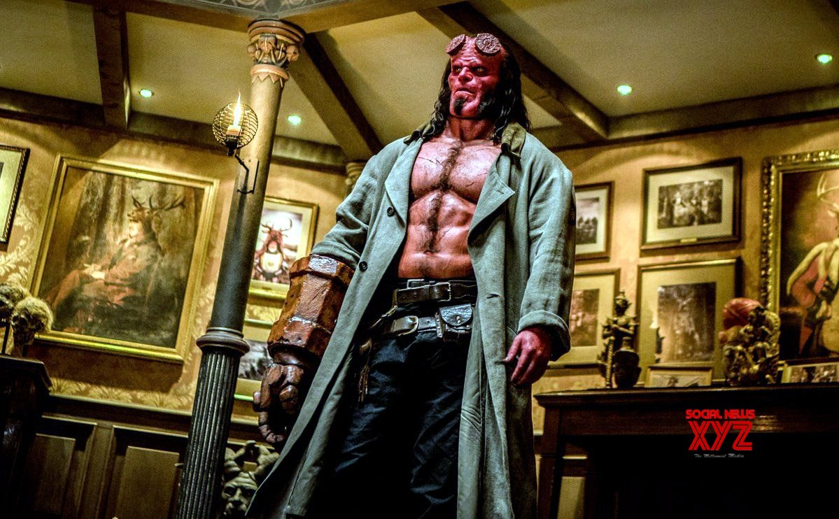 Hellboy Review: Brash,violent and lacks soul ( Rating: **)