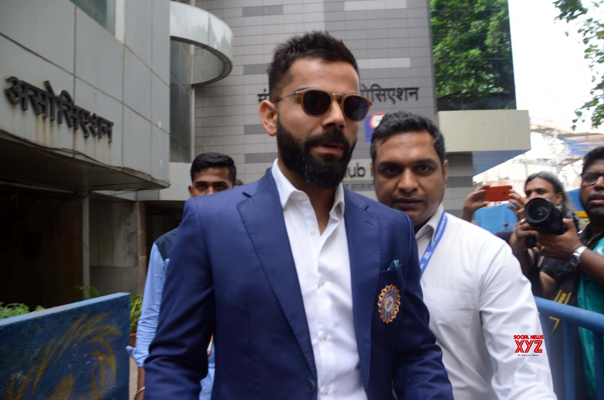 Mumbai: India squad announced for World Cup 2019 - Virat Kohli at BCCI #Gallery