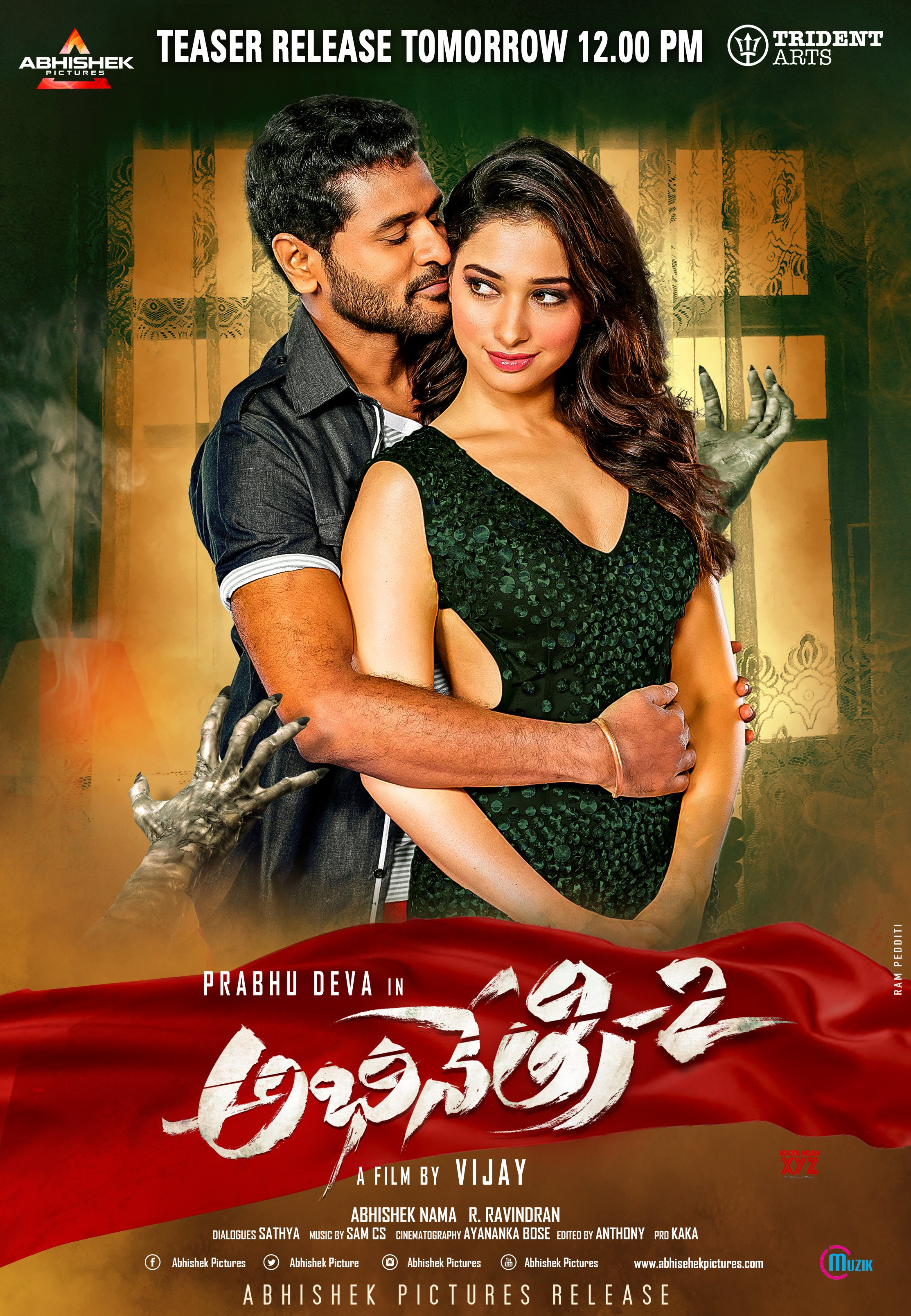 Abhinetri 2 Teaser Released, Movie Release On May 1st