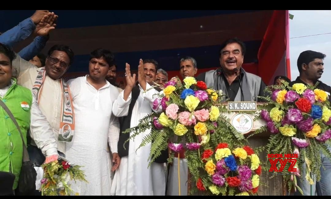 Kishanganj (Bihar): Shatrughan Sinha at a public rally #Gallery