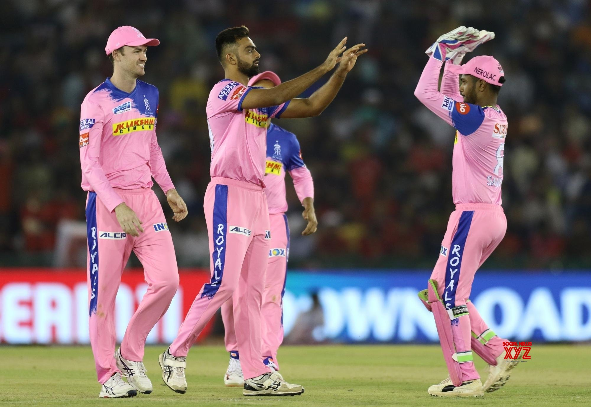 Mohali: IPL 2019 - Match 32 - Kings XI Punjab Vs Rajasthan Royals (Batch - 18) #Gallery