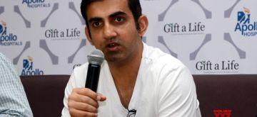 Gautam Gambhir. (File Photo: IANS)