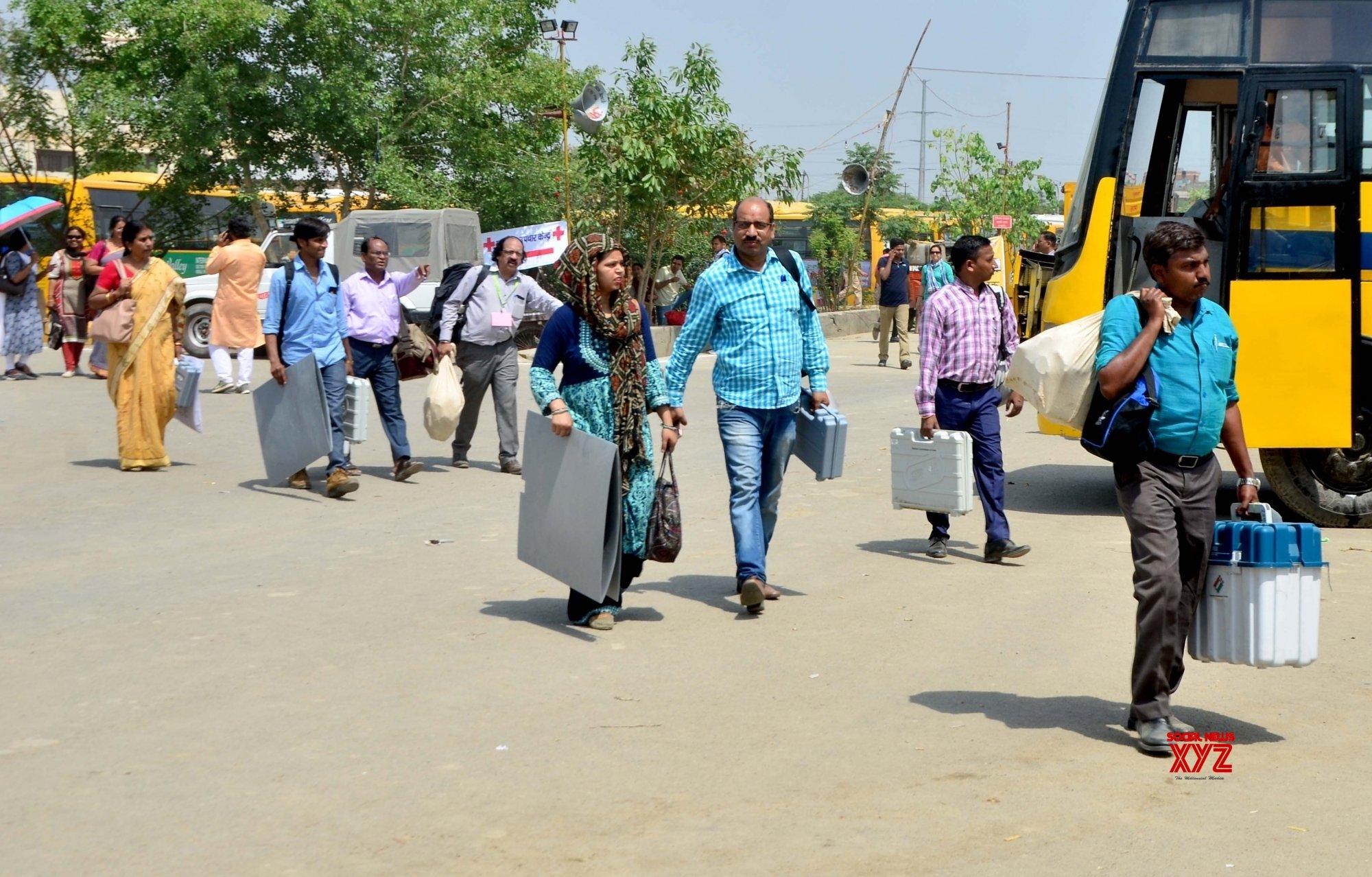 Transportation of EVMs creates flutter in Telangana
