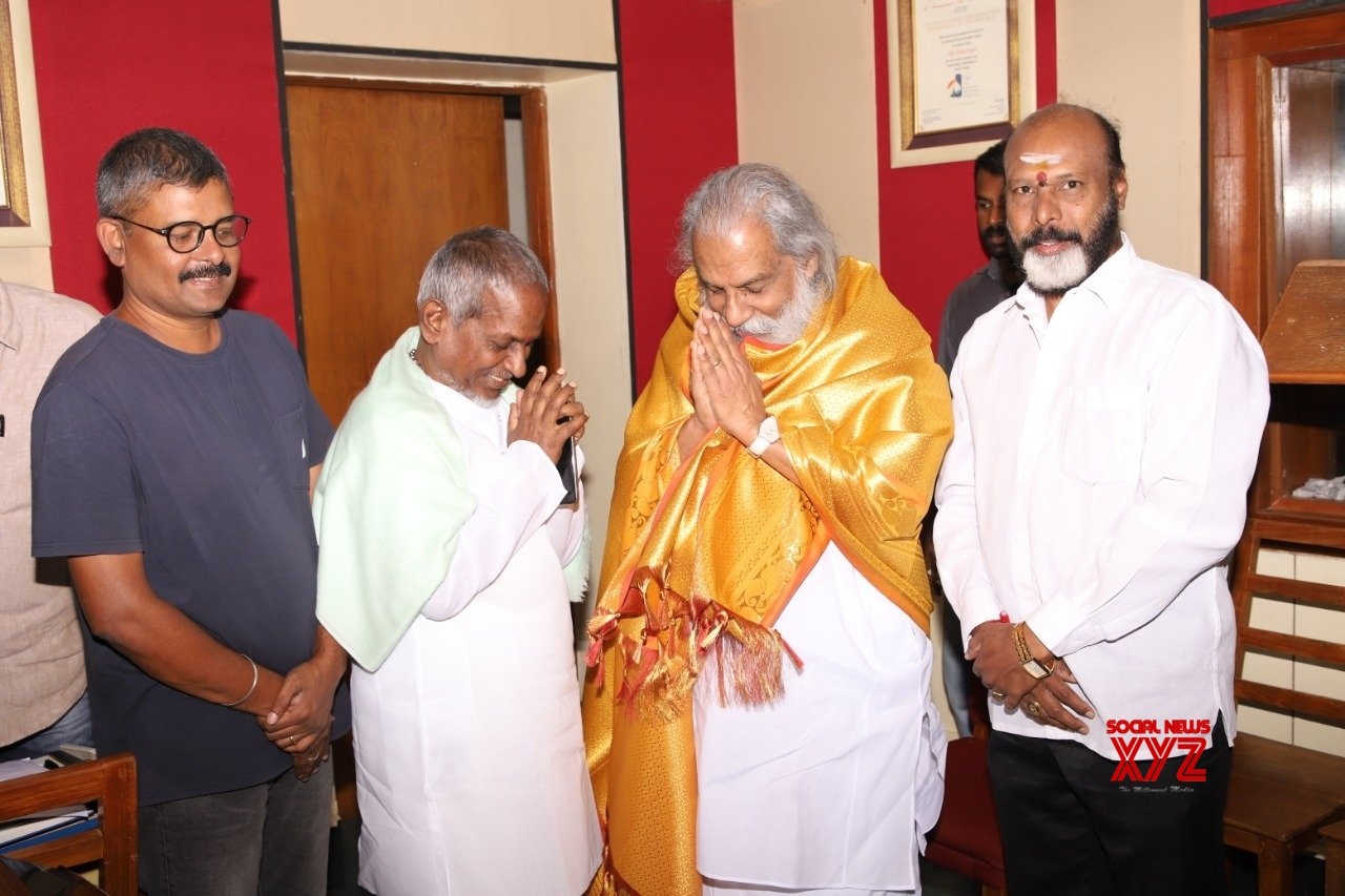 Hyderabad: Isaignani Ilaiyaraja, K.J. Yesudas team up after 10 years #Gallery