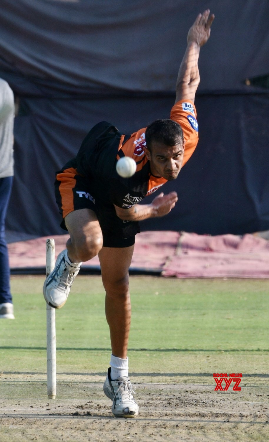 Hyderabad: Sunrisers Hyderabad's practice session (Batch - 2) #Gallery